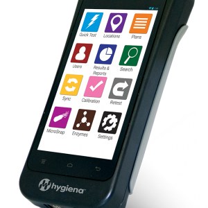 Hygiena Ensure Touch - ATP monitoring for hygiene management